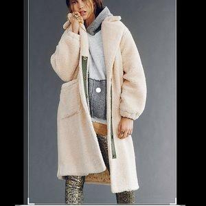 NWT Free People Tessa teddy coat size small
